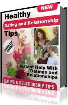 Ebook cover: Healthy Dating & Relationship Tips