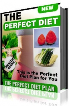 Ebook cover: The Perfect Diet Just for You