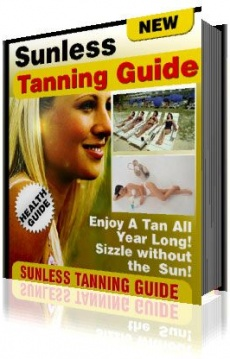 Ebook cover: The Sunless Tanning Guide