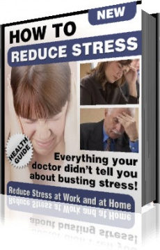 Ebook cover: How to reduce Stress