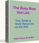Ebook cover: The Busy Mom Hot List