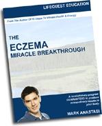 Ebook cover: Eczema Breakthrough