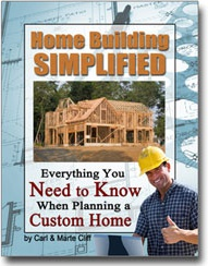 Ebook cover: Home Building Simplified