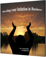 Ebook cover: Develop Your Intuition in Business
