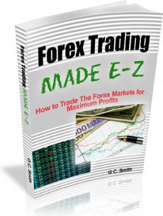 Ebook cover: Forex Trading Made E-Z