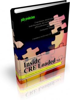Ebook cover: Inside CRE Loaded: Volume 1 - Essential Blueprints