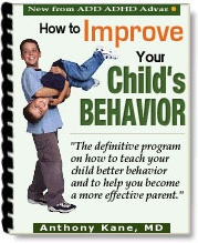 Ebook cover: How to Improve Your Child's Behavior