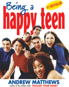 Ebook cover: Being A Happy Teen