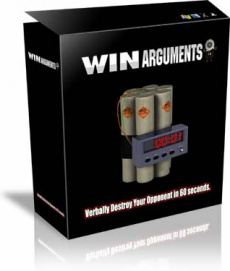 Ebook cover: Win Arguments
