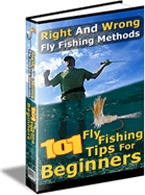 Ebook cover: 101 Fly Fishing Tips for Beginners