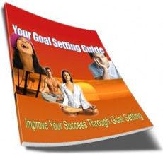 Ebook cover: Your Guide To Setting Goals Successfully!