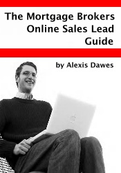 Ebook cover: The Mortgage Brokers Online Sales Lead Guide