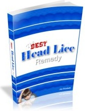 Ebook cover: The Best Head Lice Remedy