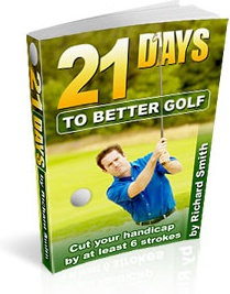 Ebook cover: 21 Days to Better Golf