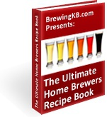 Ebook cover: The Ultimate Home Brewers Recipe Book