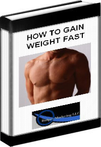 Ebook cover: How To Gain Weight Fast