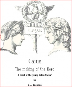 Ebook cover: Caius the making of the Hero