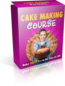 Ebook cover: Cake Making Course