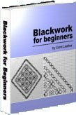 Ebook cover: Blackwork for beginners