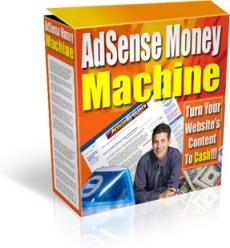 Ebook cover: AdSense Money Machine