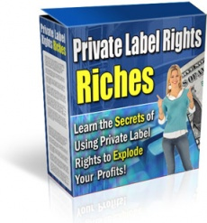 Ebook cover: Guide to Private Label Rights Riches