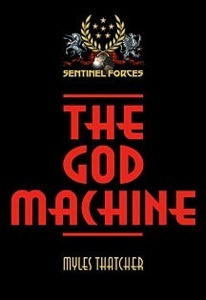 Ebook cover: THE GOD MACHINE
