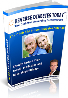 Ebook cover: Reversing Diabetes