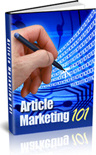 Ebook cover: Article Marketing 101