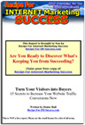Ebook cover: Turn Your Visitors Into Buyers