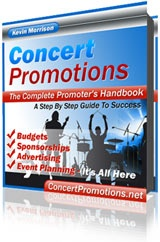 Ebook cover: How To Become A Concert Promoter