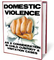 Ebook cover: DOMESTIC VIOLENCE AS A CONSIDERATION IN CHILD CUSTODY AND VISITATION DECISIONS