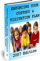 Ebook cover: Enforcing your child custody visitation arrangement