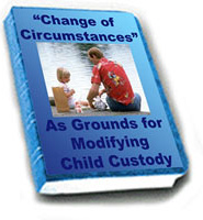 Ebook cover: Change of Circumstances as Grounds for Modifying Child Custody
