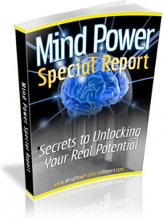 Ebook cover: Mind Power Special Reports