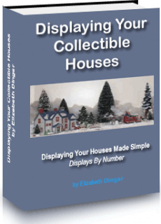 Ebook cover: Displaying Your Collectible Houses