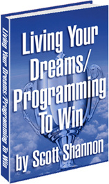 Ebook cover: LIVING YOUR DREAMS / PROGRAMMING TO WIN