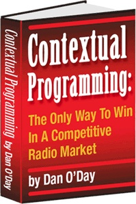 Ebook cover: CONTEXTUAL PROGRAMMING: The Only Way To Win In A Competitive Radio Market
