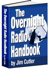 Ebook cover: THE OVERNIGHT RADIO HANDBOOK