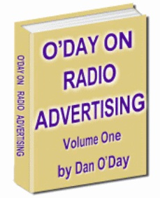 Ebook cover: O'DAY ON RADIO ADVERTISING