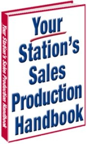 Ebook cover: YOUR STATION'S SALES PRODUCTION HANDBOOK