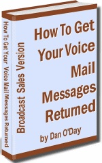 Ebook cover: HOW TO GET YOUR VOICE MAIL MESSAGES RETURNED