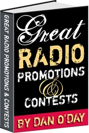 Ebook cover: GREAT RADIO PROMOTIONS & CONTESTS
