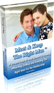 Ebook cover: Meet & Keep The Right Man™