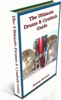 Ebook cover: The Ultimate Guide to Choosing Drums and Cymbals