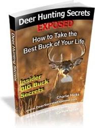 Ebook cover: Deer Hunting Secrets EXPOSED