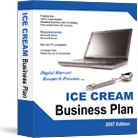 Ebook cover: The Ice Cream Business Plan