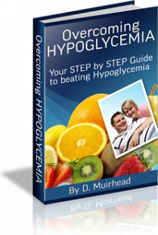 Ebook cover: Overcoming Hypoglycemia