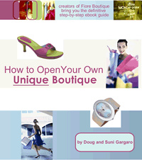 Ebook cover: How to Open Your Own Unique Boutique