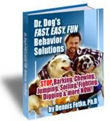 Ebook cover: Dr. Dog's Behavior Solutions