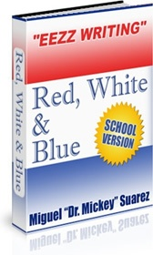 Ebook cover: Red, White & Blue